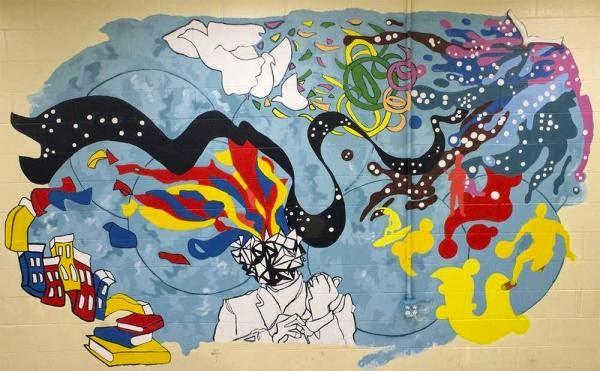 Alarte Arte Com Espirito Craft Idea For A Group Make A Mural