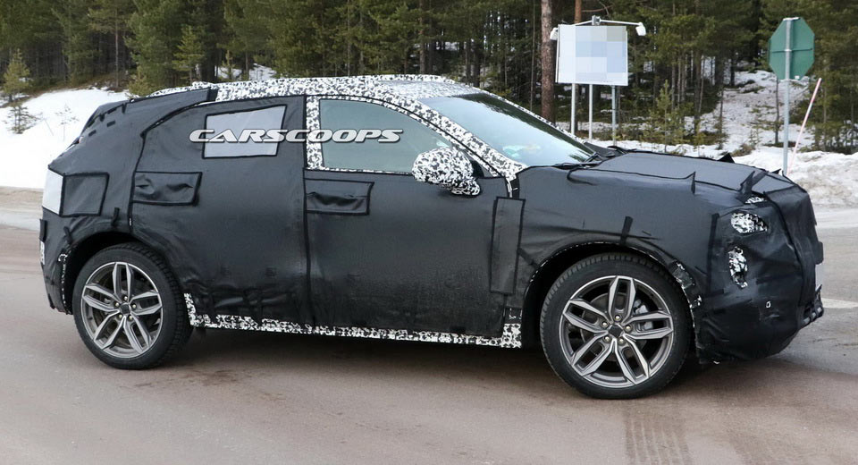 2018 Cadillac Xt3 Compact Suv Spied Better Late Than Never
