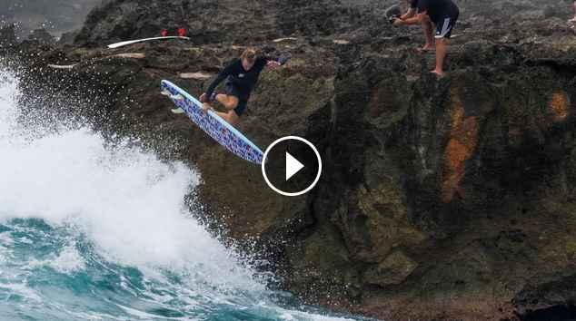 Sketchy Bomb Drops At Sharks Cove Jamie O Brien