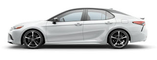 Toyota Camry Colors: Super white