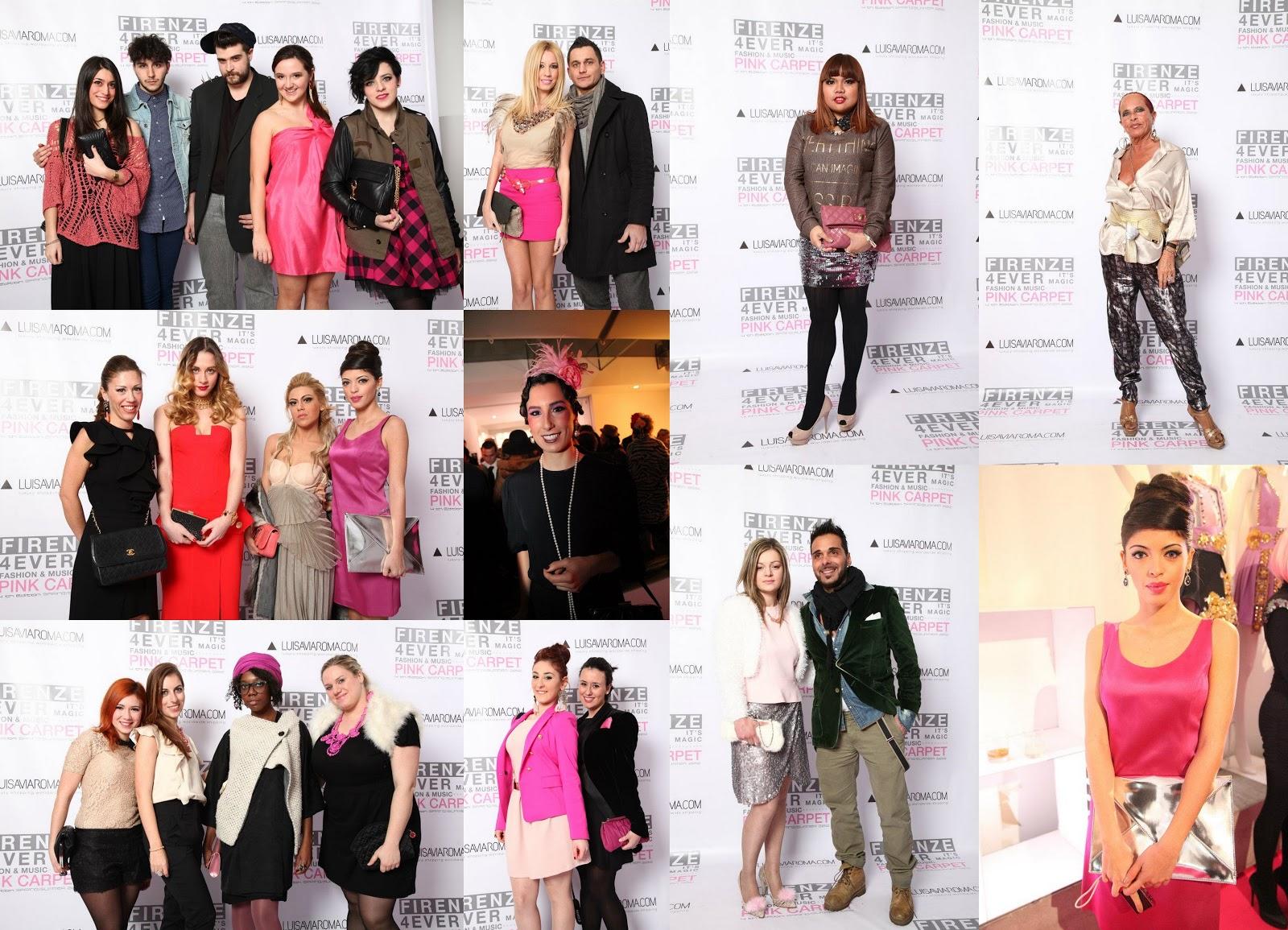 Luisa ViaRoma Firenze 4Ever Pink Carpet: Le Pagelle di Stile