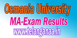 Osmania University MA Exam Results