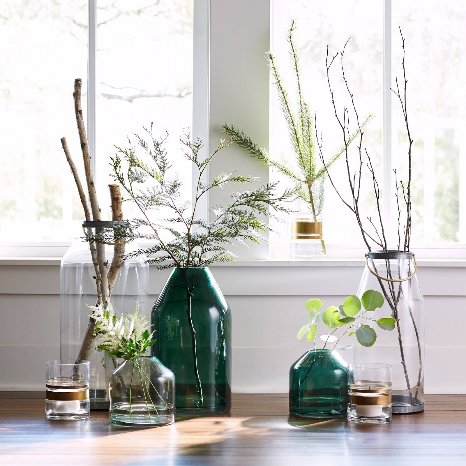 LOVE all of the vases from the new Joanna Gaines collection at Target!