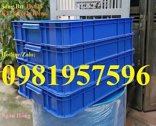 Thùng nhựa công nghiệp, khay nhựa đặc nguyên sinh, thùng nhựa Hs025 nhựa pp nguyên sinh