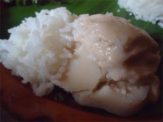 Sweet Yogurt with rice - Chini pata doi bhaat