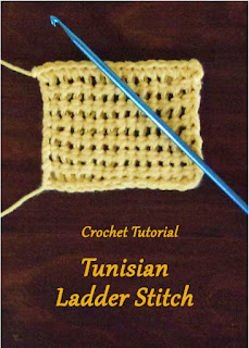 How to Crochet the Tunisian Ladder Stitch