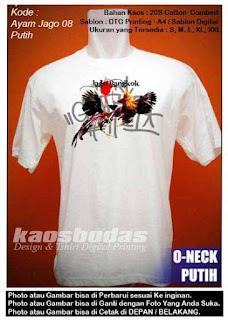 Kaos Ayam Bangkok 08