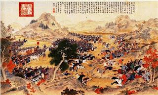 Representación batalla de Changping