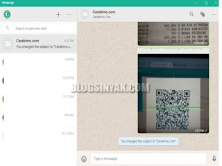 Aplikasi Whatsapp Terbaru Untuk PC   Blogsinyak