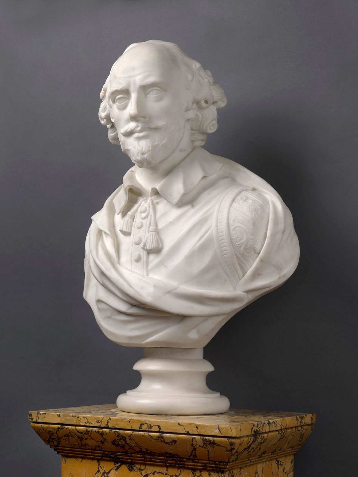 Bath Art And Architecture A Bust Of Shakespeare In The