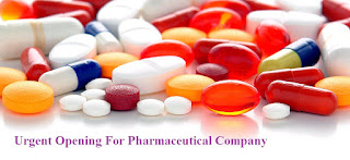 Urgent Opening For Pharmaceutical Company
