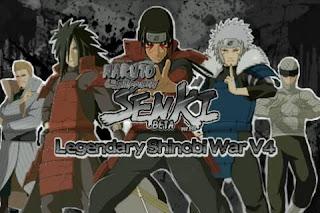 Naruto Senki Mod Legendary Shinobi War V4 Apk