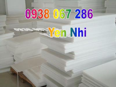 Cung cấp  tấm nhựa pe trắng cắt thớt bán theo yêu cầu