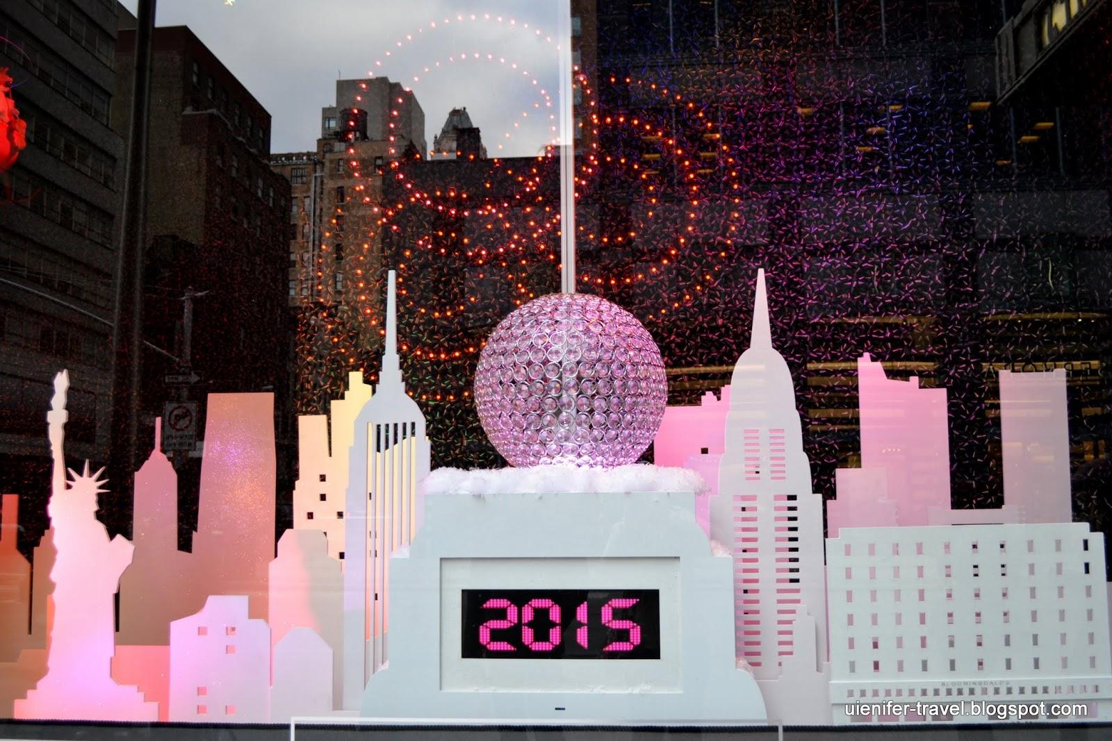 Рождественский Нью-Йорк 2014 - витрины Bloomingdale's