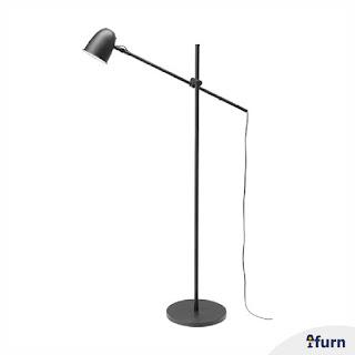 Jual Lampu Lantai Arsitek Hitam Ikea