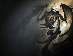 mythical creatures dragon fantasy background dragons dark wallpapers hd demon mythological fox shadow et scary desktop reactions artwork character deviantart