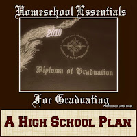 Homeschool Essentials for Graduating - A High School Plan on Homeschool Coffee Break @ kympossibleblog.blogspot.com