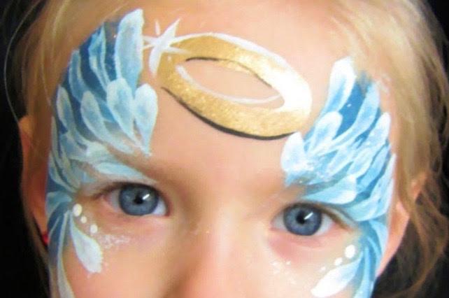 Maquillaje de ángel
