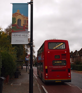 On the way to Herne Hill's Carnegie Library