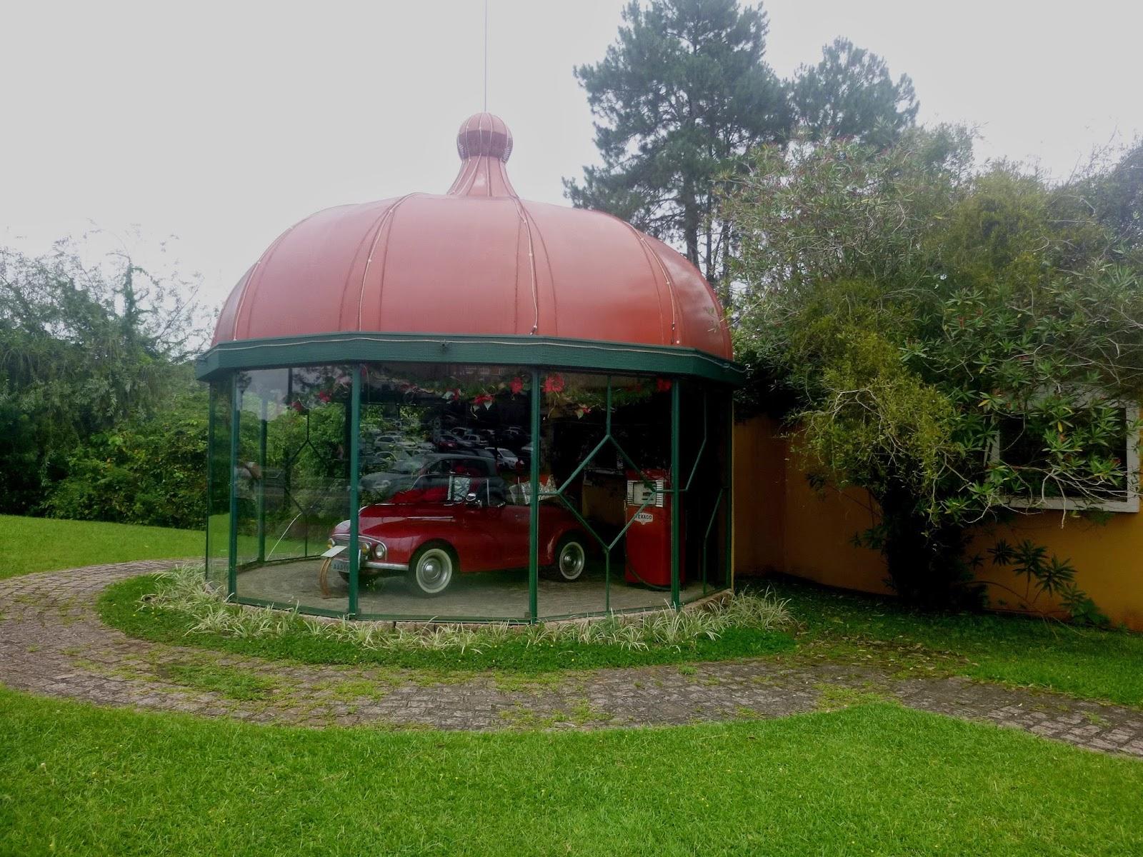 Museu do automóvel - Parque Barigui - Curitiba - TURISMO E VIAGEM
