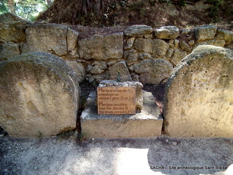 Chemins et jardins site arch ologique de st blaise st for Accessoire piscine st mitre les remparts