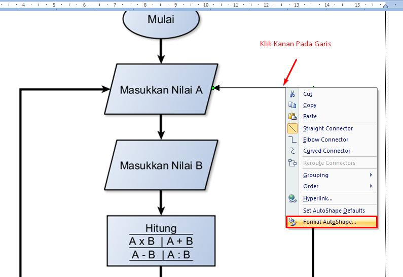 Cara membuat tanda panah di microsoft word tutorial ms word caramembuattandapanahdimsword2g ccuart Gallery