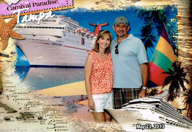 Carnival Paradise embarkation photo