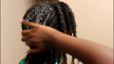How to Wash Natural Hair in Cornrows