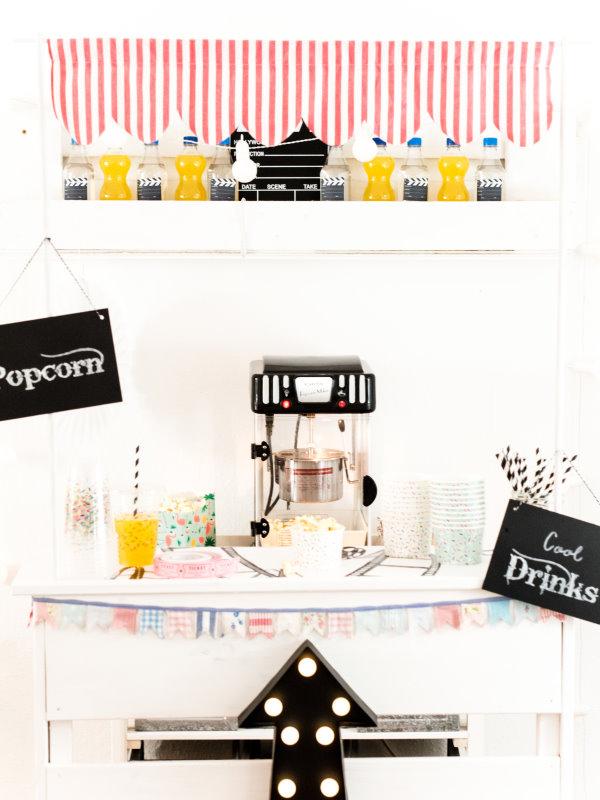 Popcorn daheim: Selbst gemachter Verkaufsstand