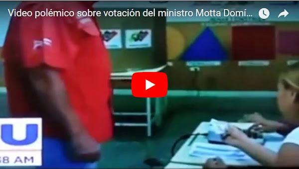 Hicieron video falso de Mota Dominguez votando y dejando la papeleta