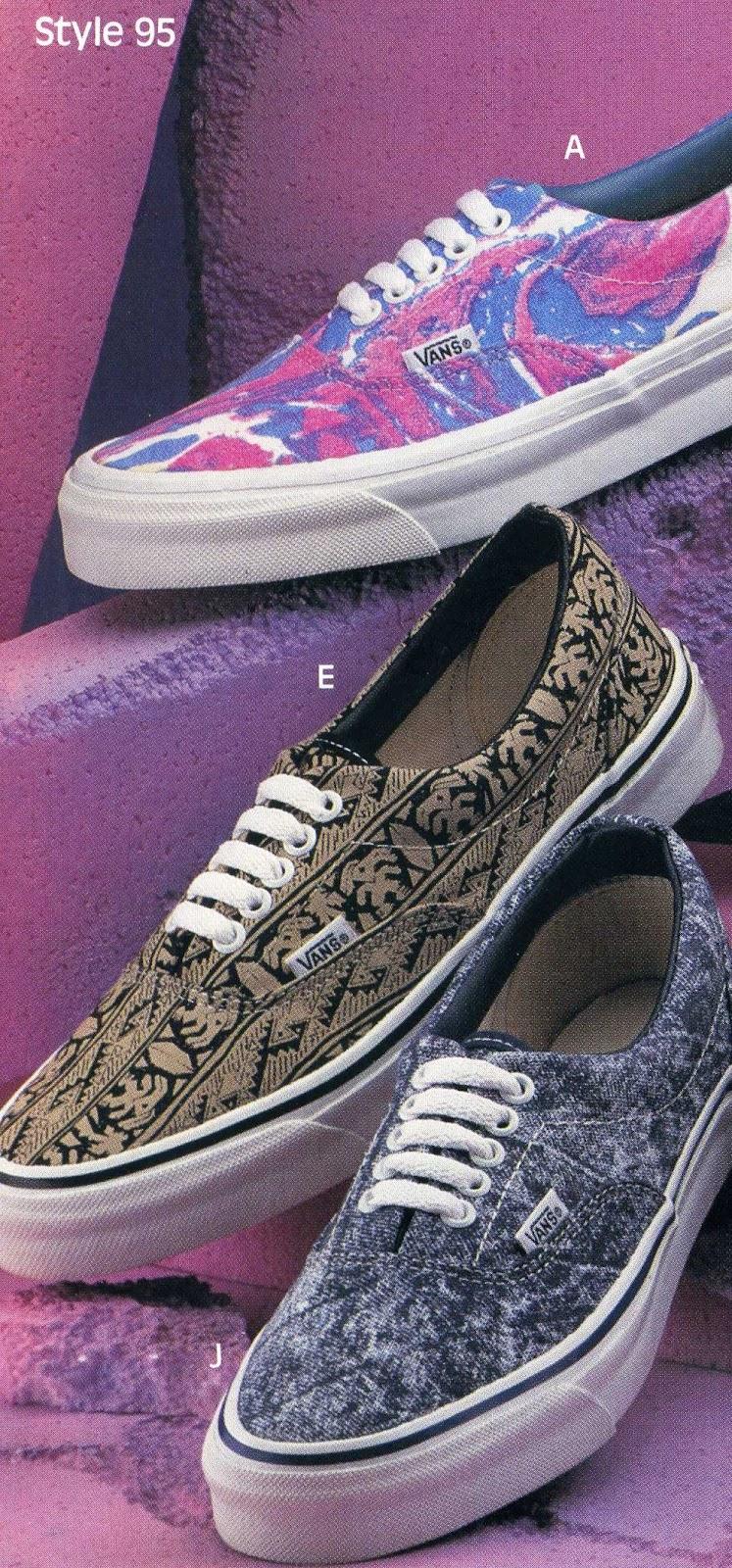 afbc3635fc7bce vintage VANS khaki aztec print style  95 era US10.5 MADE IN USA 1990 s