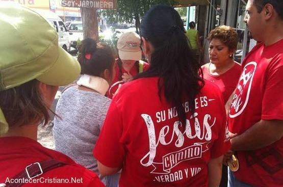 """Campaña de evangelismo en México """"1 Millón para Jesús"""""""
