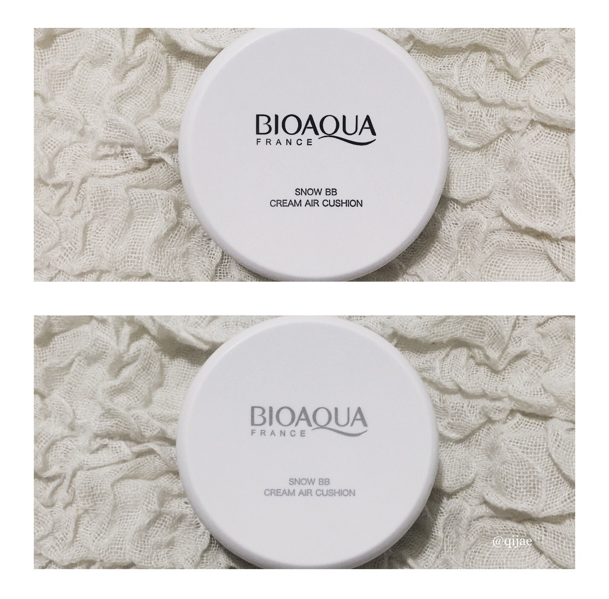 Mylifeasqijae Review Bioaqua France Cream Air Cushion Extreme Base Natural Colour 01 Box Orange Bb I Was Amazed By It Even Though Know Shouldnt But Since Im Easily Distracted With Something Like That Did Play For A Few Minutes