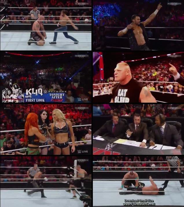 WWE Monday Night Raw 27th July HDTV Rip Download