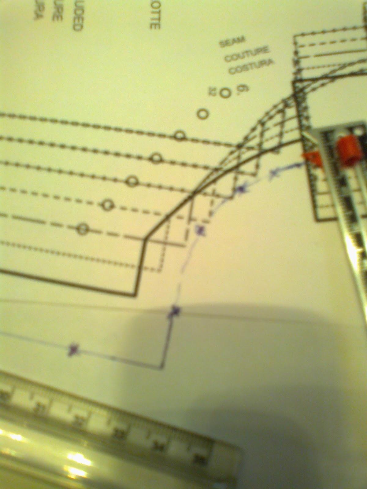 cómo adaptar un patrón de Burda a tus medidas