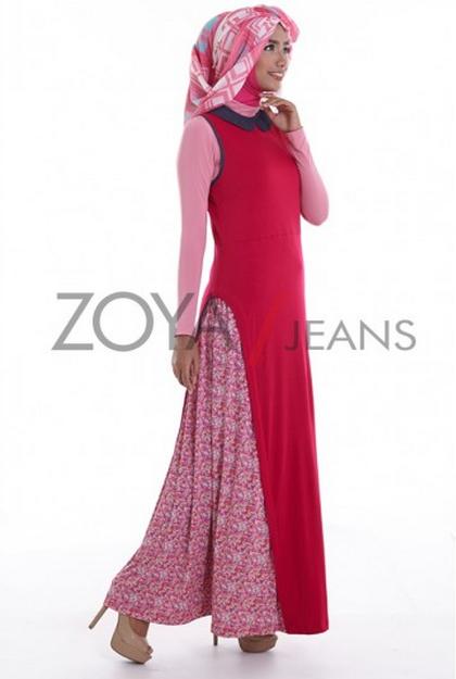 Gambar Baju Muslim Zoya Terbaru