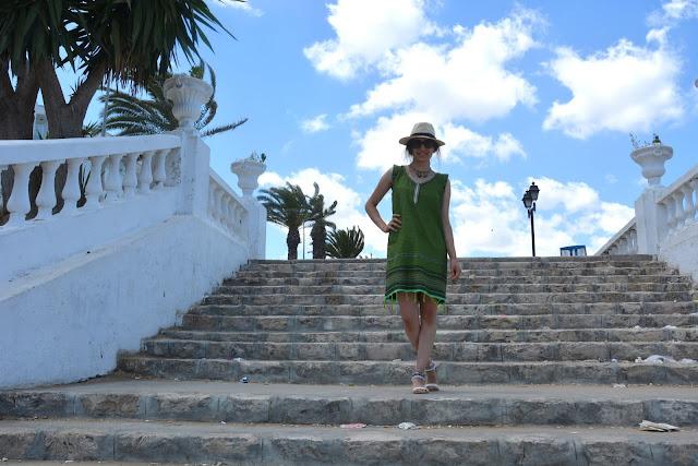 Mavi-Beyaz Evler-Tunus