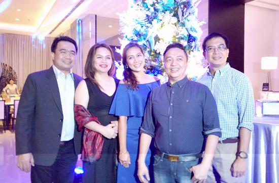 Davao City Councilor Bernard Al-ag, DavWell's Cherry Al-ag, Kathy Namuag,  DATA Pres., Gatchi Gatchalian and DOT XI RD, Robby Alabado