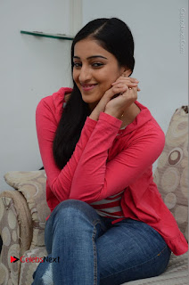 Telugu Actress Mouryani Latest Pos in Blue Denim Jeans  0147.JPG