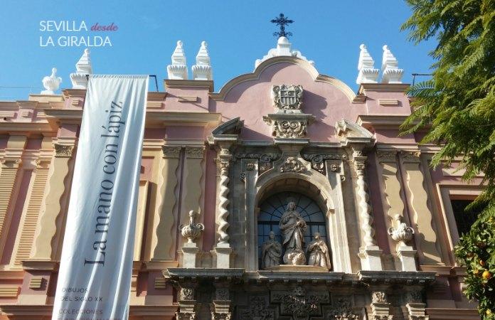 Actual fachada del Museo de BBAA de Sevilla