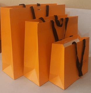 kurdela saplı lux karton poşetler