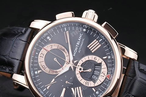 62f13ec6e98 0070 - Relógio Mont Blanc Automatic - R  890