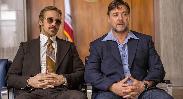 Dois Caras Legais, com Russell Crowe e Ryan Gosling, ganha trailer legendado