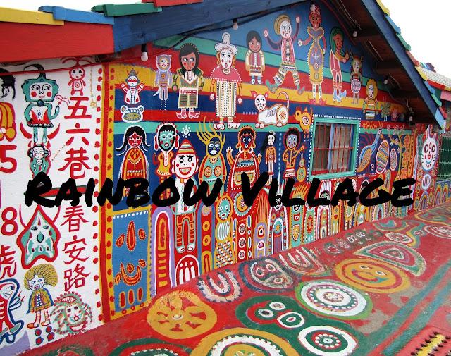 rainbow village taichung taiwan