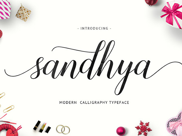 Sandhya Script Font Free Download
