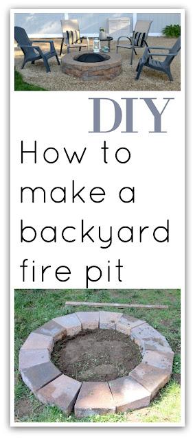 Fire pit pinterest pin