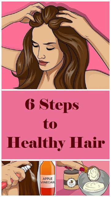 6 Steps To Healthy Hair!