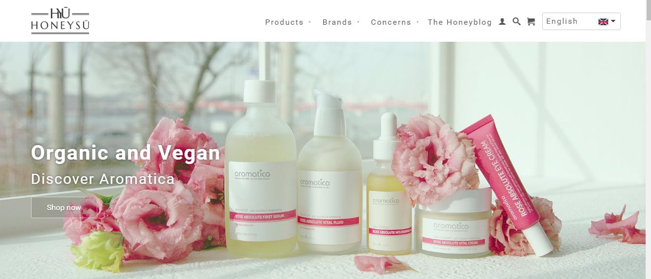 Honeysu korean beauty shop
