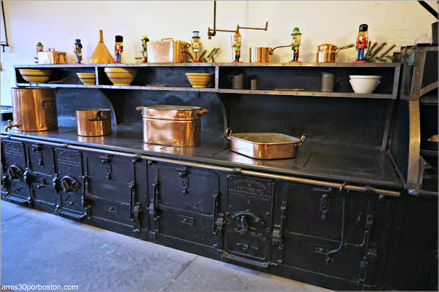 Fogones de la Cocina de Marble House, Newport