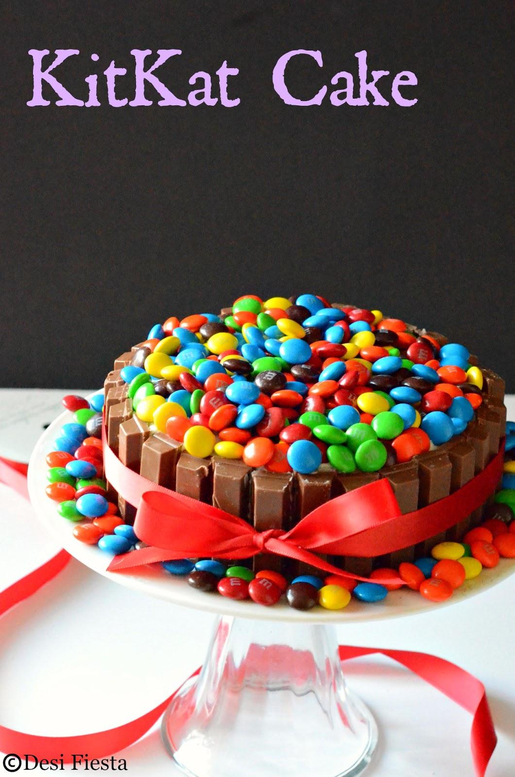 Kit Kat Cake Recipe Eggless